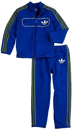 ADIDAS ORIGINALS JOGGER ENFANTS RUE DIVER SURVÊTEMENT JOGGING SPORT COSTUME  BLEU BLANC  Amazon.fr  Vêtements et accessoires 4b28703e65f