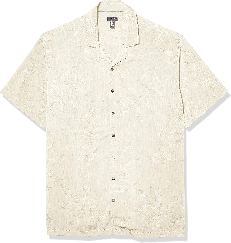 Van Heusen Men's Big and Tall Air Tropical Short Sleeve Button Down Shirt