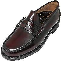 1639. Zapato mocasín Cosido a Mano en Inca Mallorca; Piel de máxima Calidad