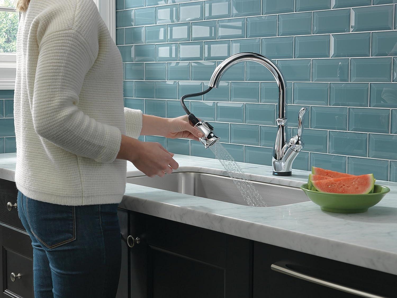 touch kitchen faucet reviews