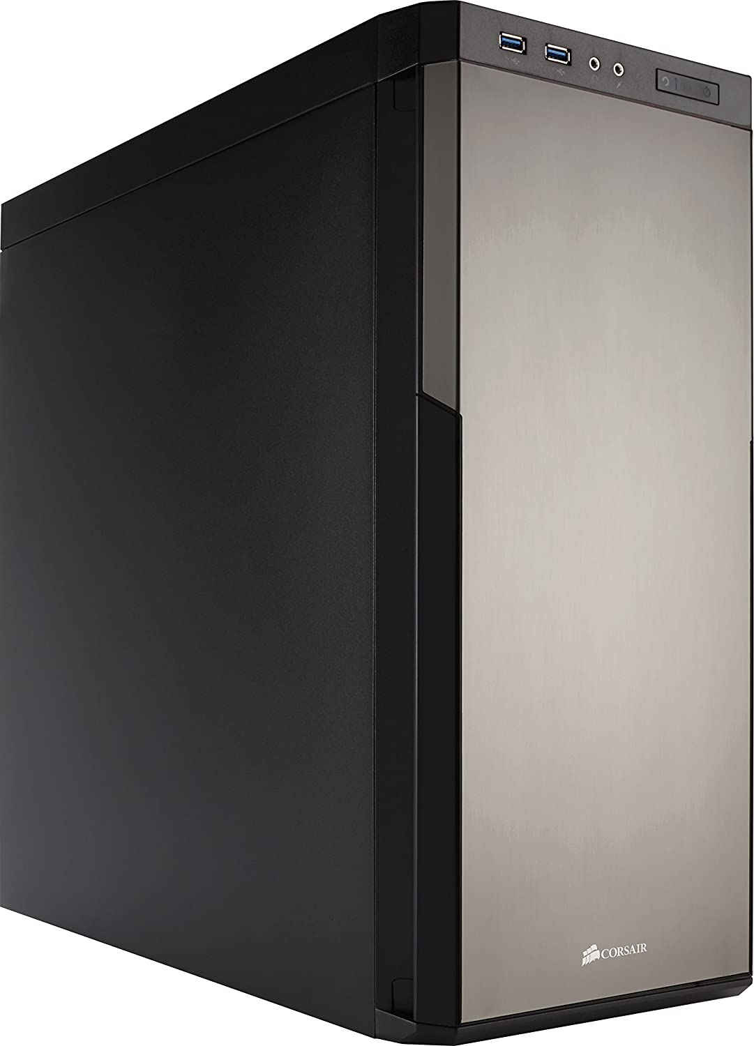 Corsair Carbide 330R Titanium Edition Case da Gaming, Mid-Tower ATX, Insonorizzato