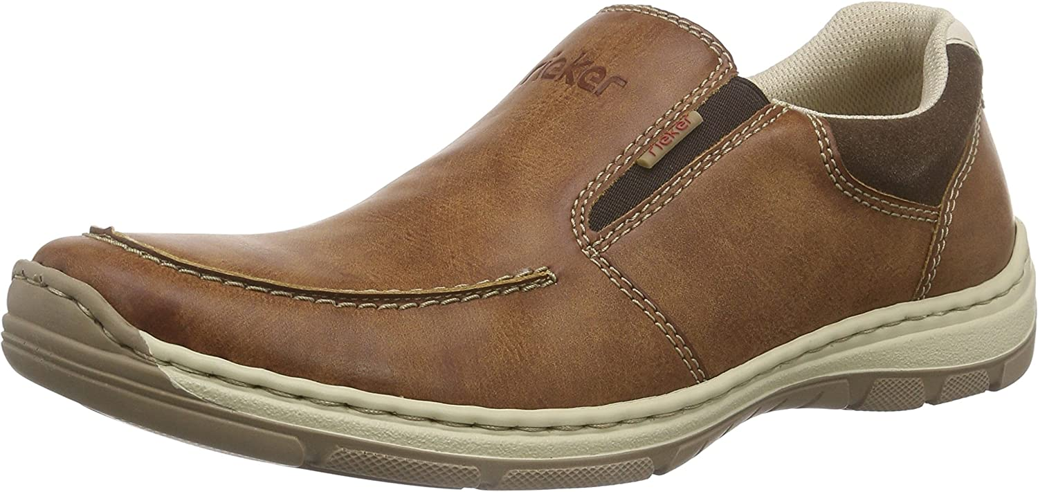TALLA 43 EU. Rieker 15260 Loafers & Mocassins-Men, Mocasines para Hombre