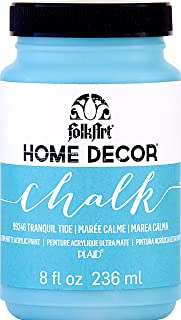 product image for FolkArt Home Decor Chalk Acrylic Paint, 8 oz, Tranquil Tide