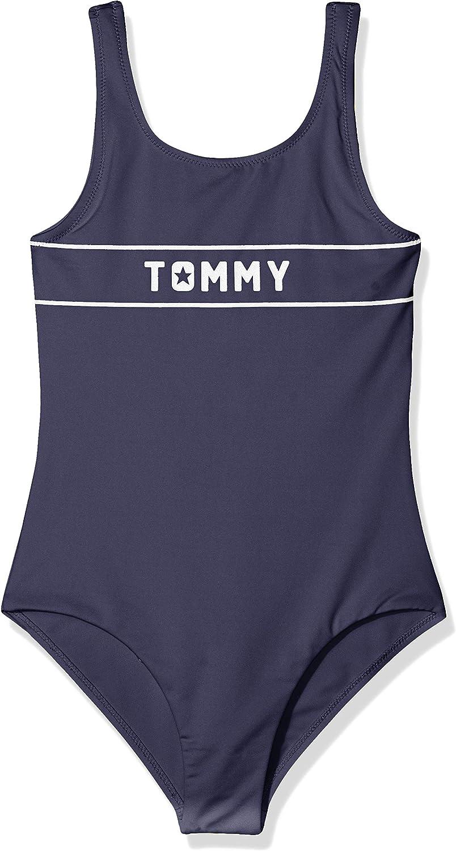 Tommy Hilfiger M/ädchen B/ügelloser Badeanzug SWIMSUIT UG0UG00101