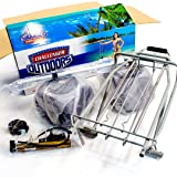 Challenger Mobility Folding Beach Cart Large