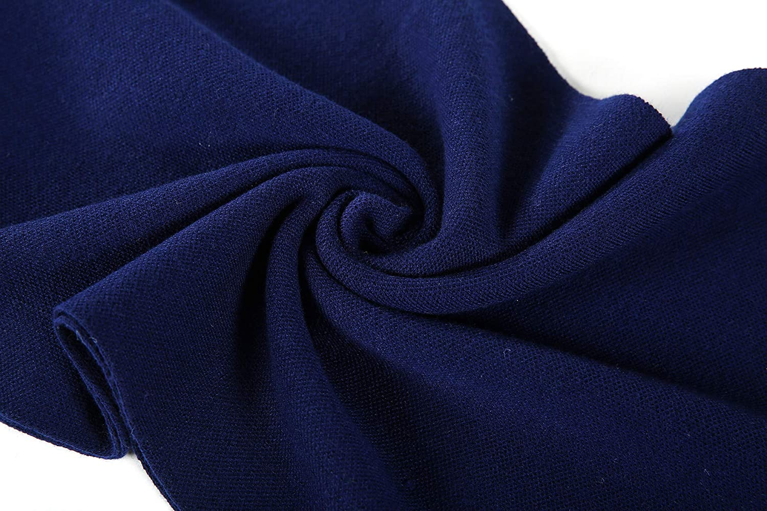 Dovava Mens Australia Merino Wool Scarf Warm Winter Classic Soft Knitted Long Thermal Neck Scarves