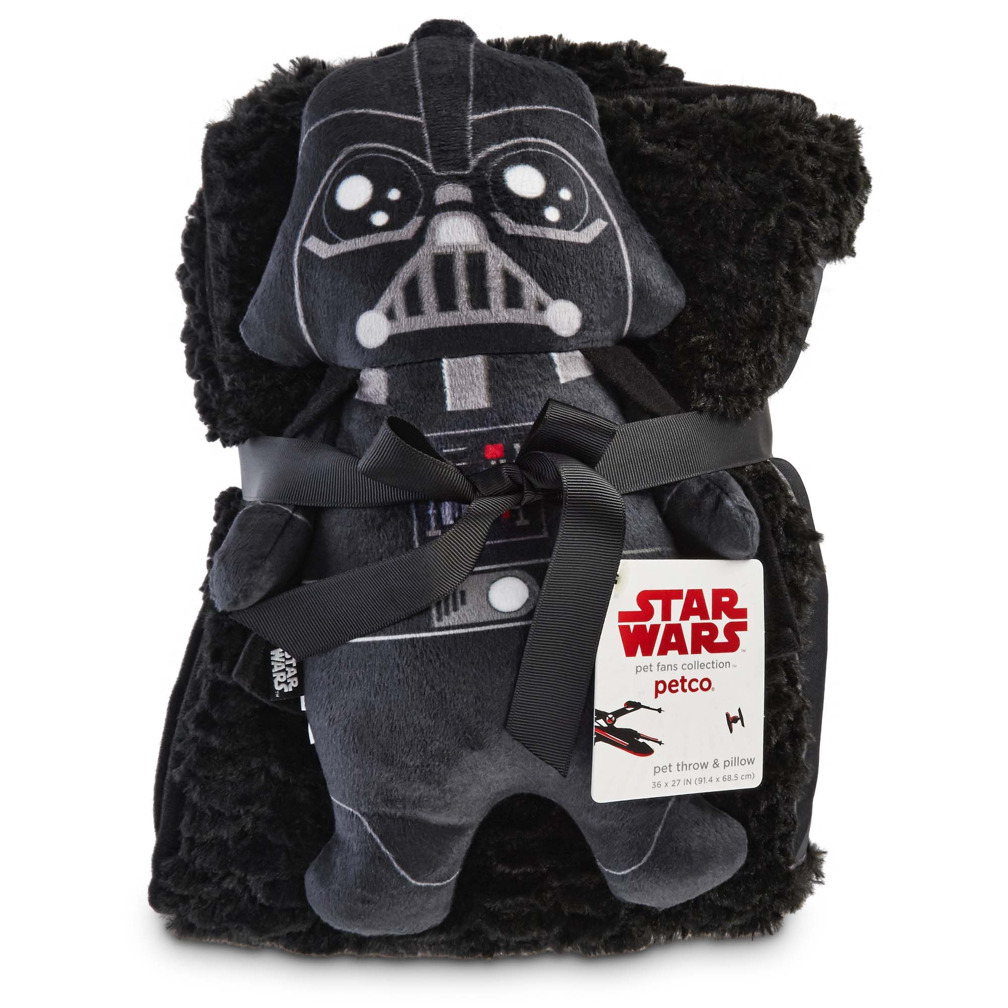 Star Wars Darth Vader Throw and Pillow for Dogs, Small