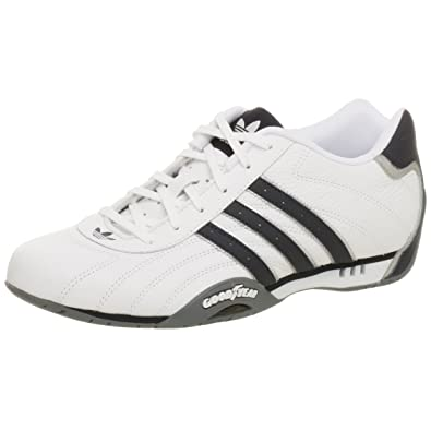 adidas Originals Men\u0027s adi Racer Low Leather Shoe,White/Nw Navy ...