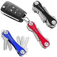 KeySmart Classic - Compact Key Holder and Keychain Organizer (up to 14 Keys)