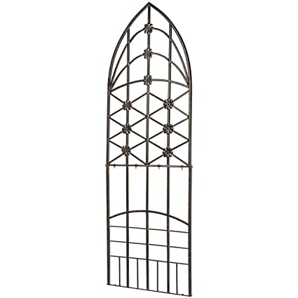 Amazon Com H Potter Garden Trellis Wrought Iron Weather Resistant