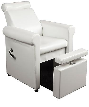 Salon Spa PURE HEAVEN Pedicure Spa Chair In WHITE Free Cape Co Apron 20 value