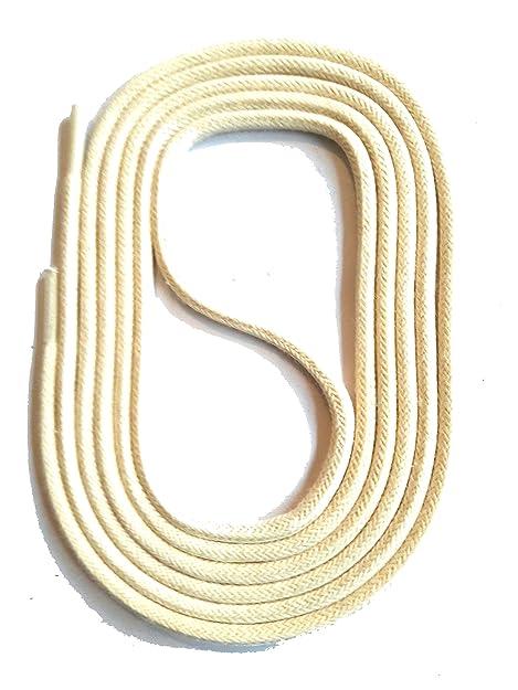 SNORS LACCI COLORATI rotondi CERATE CREMA 75cm 29.5 quot  2-3 mm STRINGHE  PER SCARPE b10149f4cf9