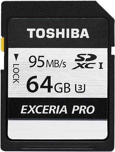 Toshiba Exceria Pro N401 Sdxc 64gb Uhs I U3 Computer Zubehör