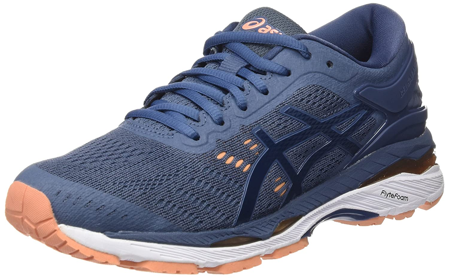 59fb0d1535 Amazon.com | ASICS Women's Gel-Kayano 24 Running Shoe, 6.5, Blue | Road  Running