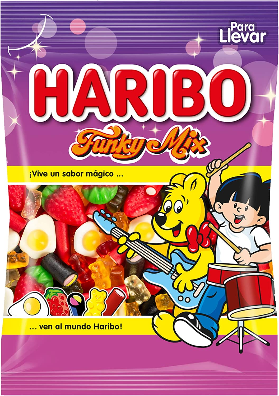 Surtido de golosinas Haribo Funky Mix por sólo 1,19€