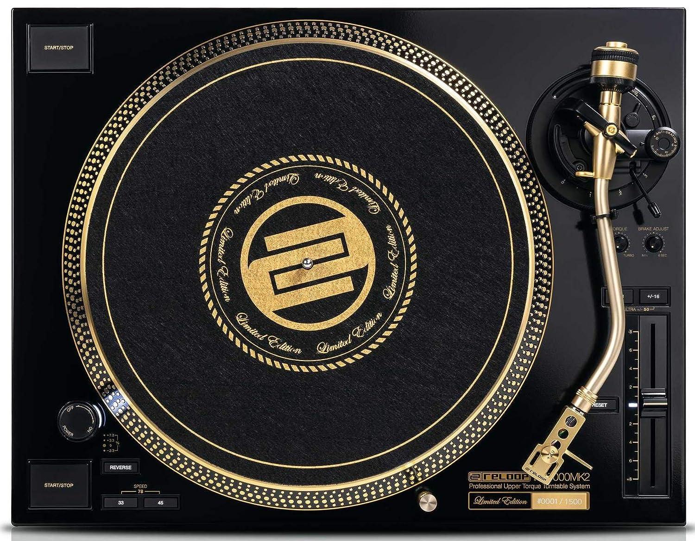 RP-7000 MK2 Gold Tocadiscos Profesional para Clubes de ...