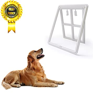 Amazon Fation Show Pet Dog Sliding Screen Door With Two Way