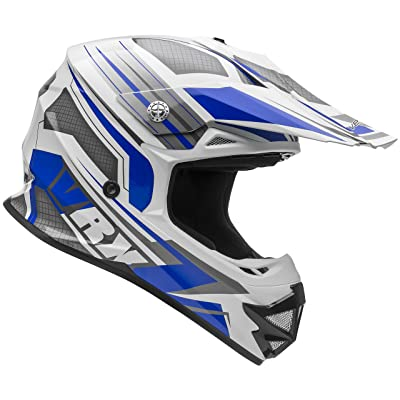 Vega Helmets VRX Advanced Off Road Motocross Dirt Bike Helmet (Blue Venom Graphic, X-Small): Automotive