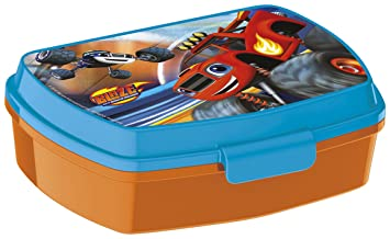 Blaze - Fiambrera sandwichera de plástico, 17x11 (Anadel S85974): Amazon.es: Juguetes y juegos