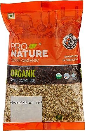 Pro Nature 100% Organic Saunf (Fennel) 100g