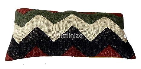 Kilim - Fundas de almohada rectangulares indias Kilim ...