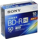 SONY ビデオ用ブルーレイディスク 10BNR2VJPS6(BD-R 2層:6倍速 10枚パック)