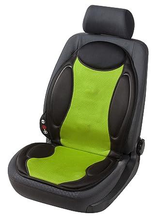 Massage Sitzheizkissen Sitzauflage Heizauflage Sitzschoner Lounge schwarz grün