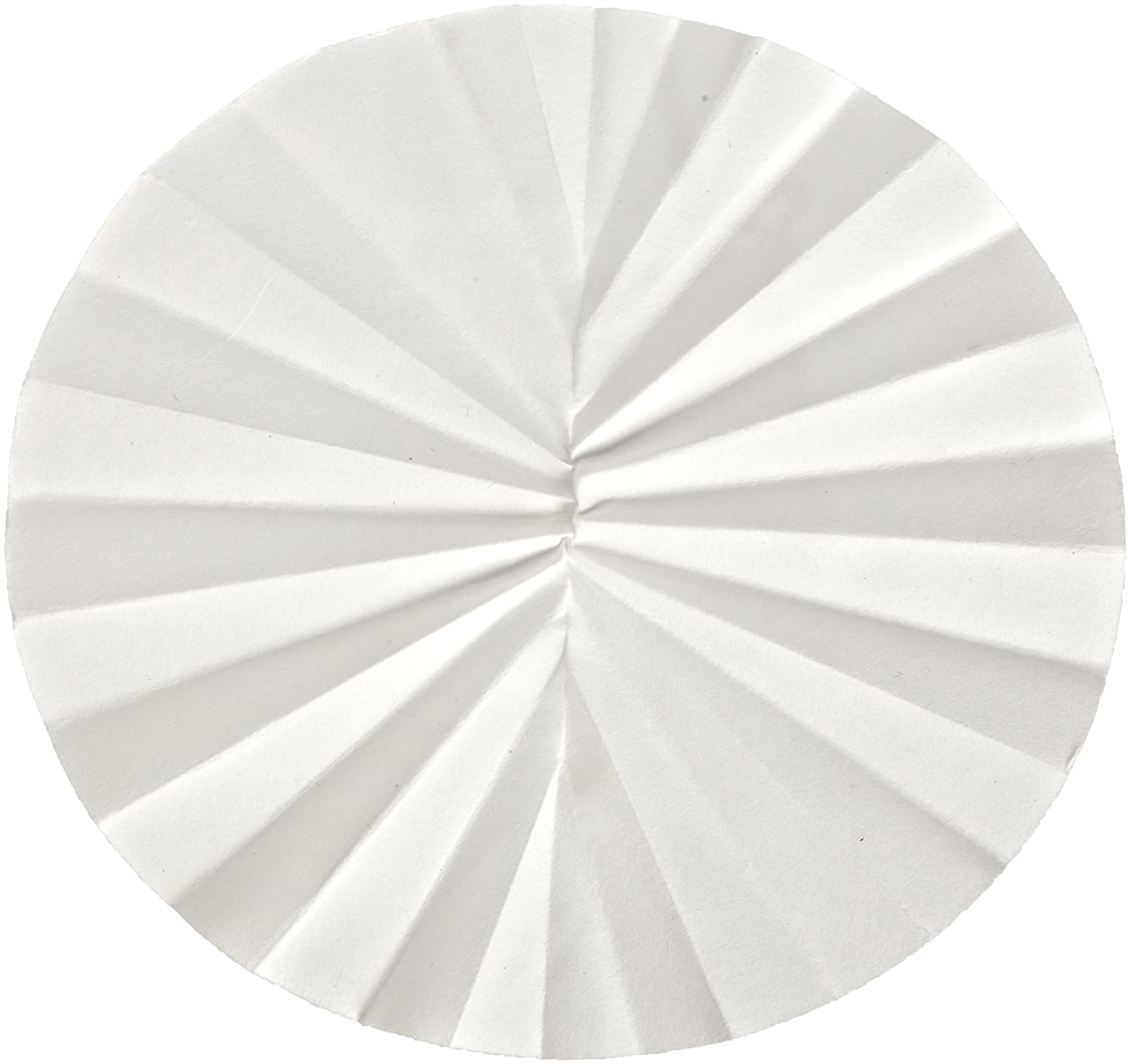 Whatman 10311641 Quantitative Folded Filter Paper 4-7 Micron, Grade 595-1/2, 70mm Diameter (Pack of 100) GE Healthcare WHA-10311641