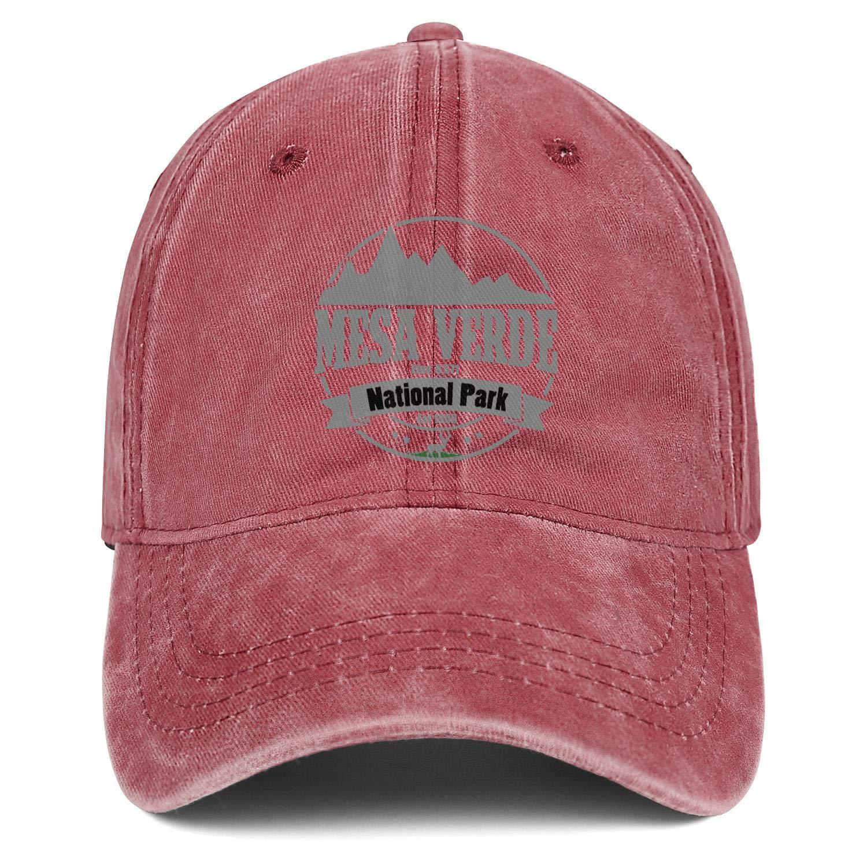Unisex MenComfortable Denim Dad Hat Adjustable Mesa Verde National Park Elev 8571 Beach Baseball Hat