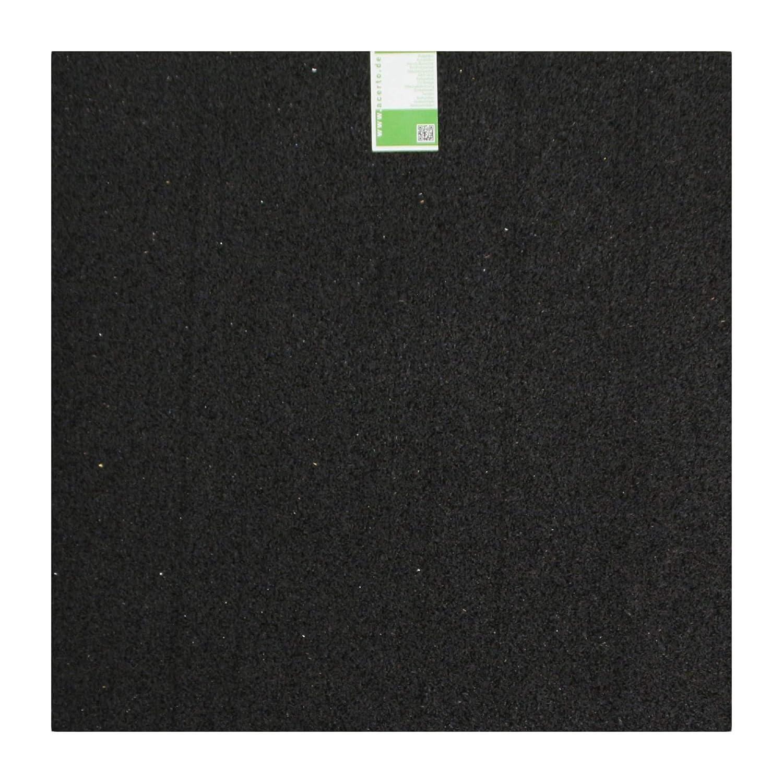 Unterlage Kofferraumschutz Fallschutz Gummigranulat 60x60x2cm acerto 31153 Antivibrationsmatte Kratzschutz