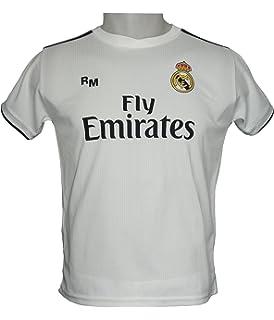 ead59a94f33 Shirt Junior - Customizable - First Team Real Madrid Original Replica 2018  2019