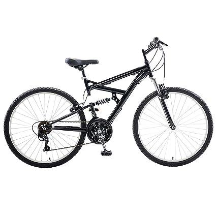 Amazon.com : Cycle Force Dual Suspension Mountain Bike, 26 inch ...