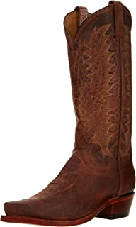 product image for Tony Lama Boots Men's Saigets Worn Goat 6979 Western Boot