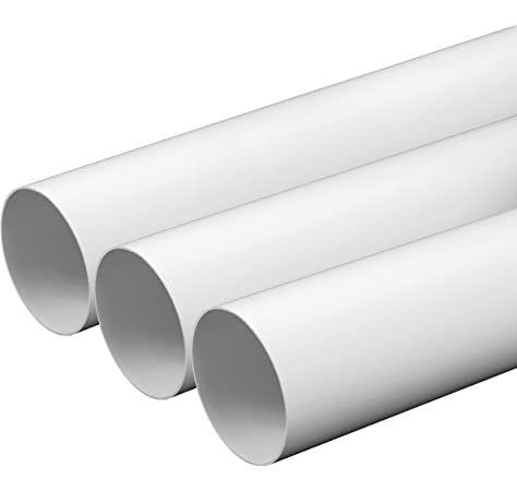 Vents – Rejilla de ventilación con revestimiento con válvula de conducto 100 mm de diámetro ABS blanco exterior Campana: Amazon.es: Hogar