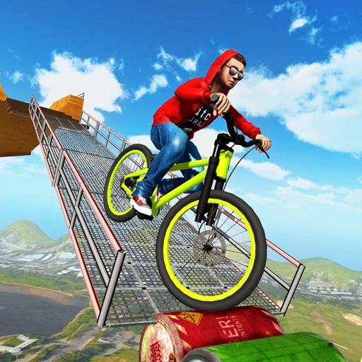 (BMX Cycle Tricky Stunts 2017)