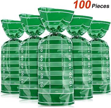 100 pezzi 50 x 30 cm Sacchetti trasparenti da regalo