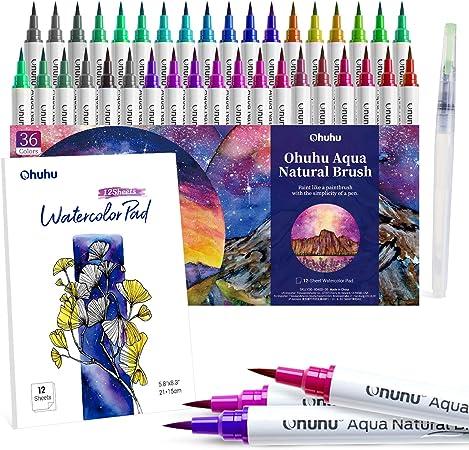 12 Lápices Acuarela Artista Para Dibujo Dibujo Arte Pintura De Agua Color