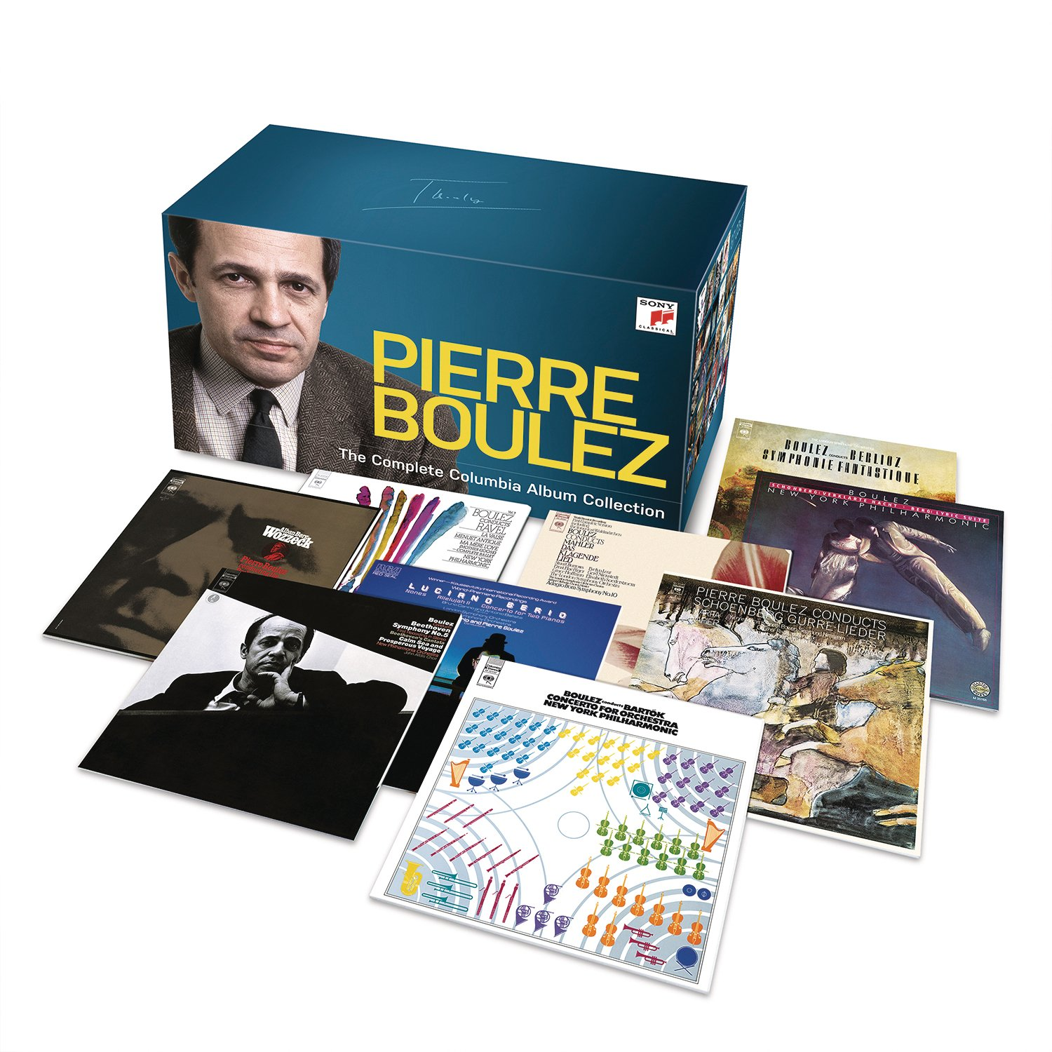 Pierre Boulez - The Complete Columbia Album Collection by CD