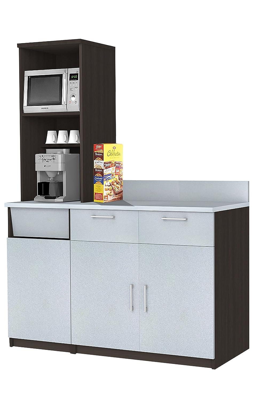Amazon.com: Coffee Kitchen Lunch Break Room Space Saver Cabinets ...