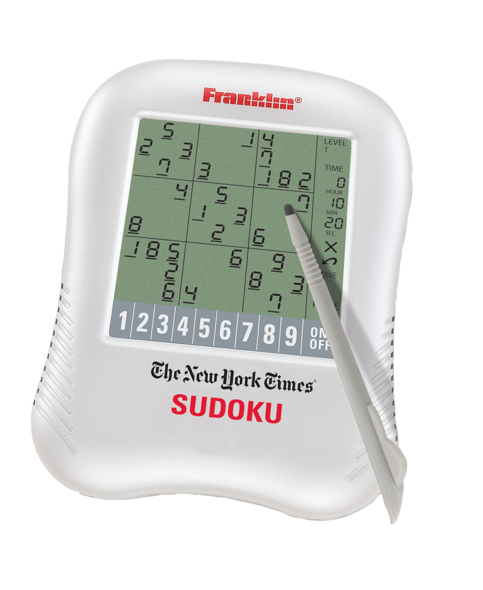 Franklin New York Times Handheld Sudoku Game (NYT-320SDU) by Franklin