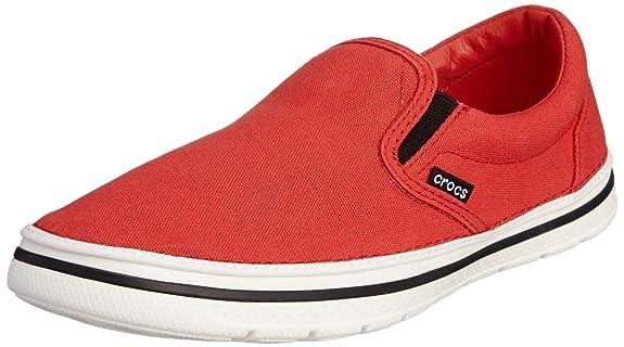 Crocs Norlin Slip-on Herren Red/White 45-46 EUR / M11