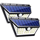 InnoGear 42 LED Solar Lights Outdoor with Wide Lighting Area Wireless Motion Sensor Security Night Light Wall Sconce Lamp Waterproof for Front Door Back Yard Driveway Garage Patio and Garden