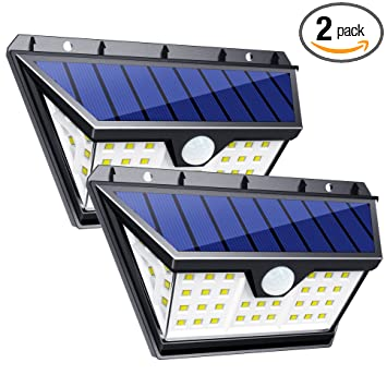InnoGear 42 LED Solar Lights Outdoor with Wide Lighting Area Wireless Motion Sensor Security Night Light