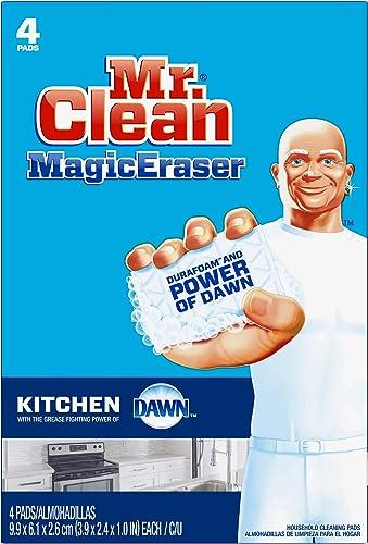Mr. Clean Magic Eraser Kitchen Cleaning Pads with Durafoam
