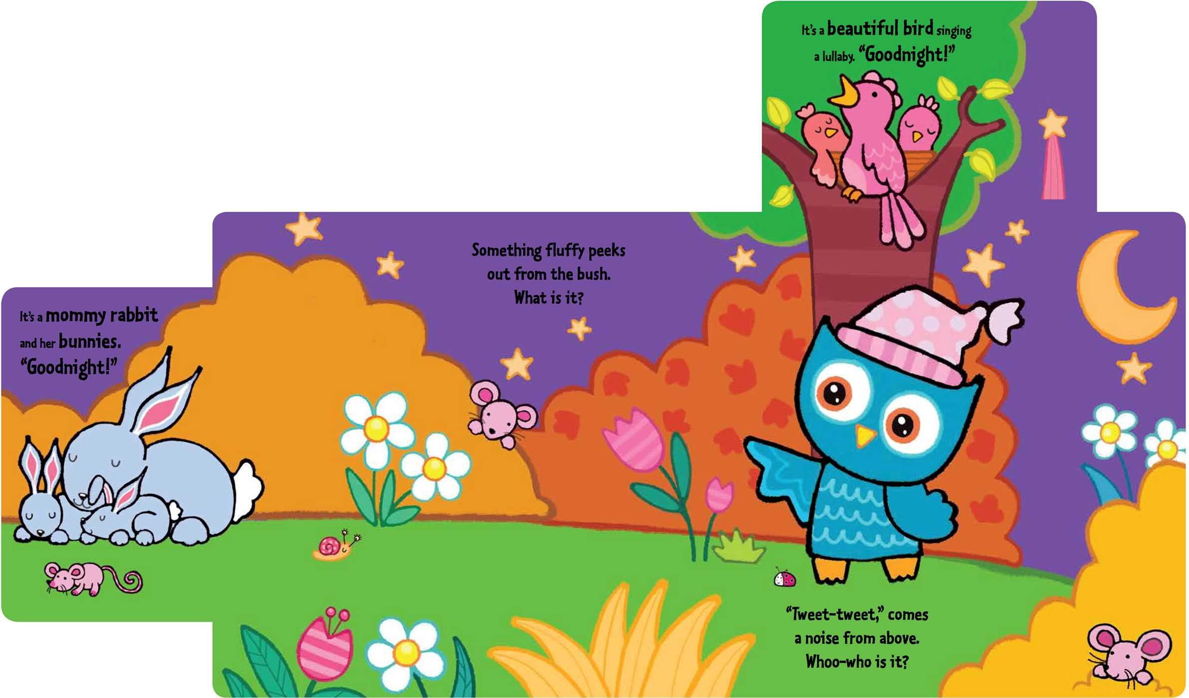 Amazon: Little Owl Says Goodnight: A Slideandseek Book  (9781499804065): Emma Parrish: Books