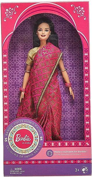 poupée barbie en sari