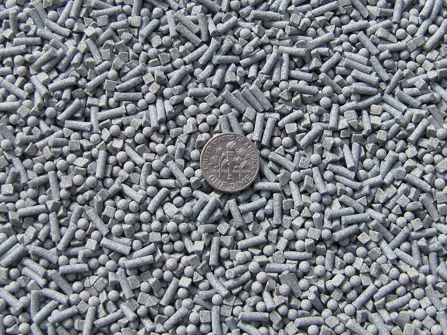 6 Lb 3 mm Sphere /& 2.5 X 8 mm Pins Fast Cutting Abrasive Ceramic Porcelain Tumbling Tumbler Tumble Media 3 mm Triangle