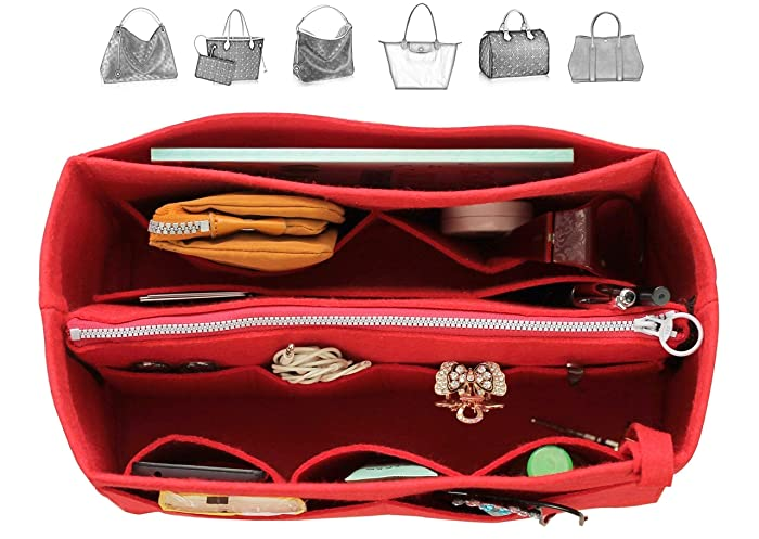 Amazon.com  Felt Organizer (with Detachable Middle Zipper Bag) 1c73b04bbd1b