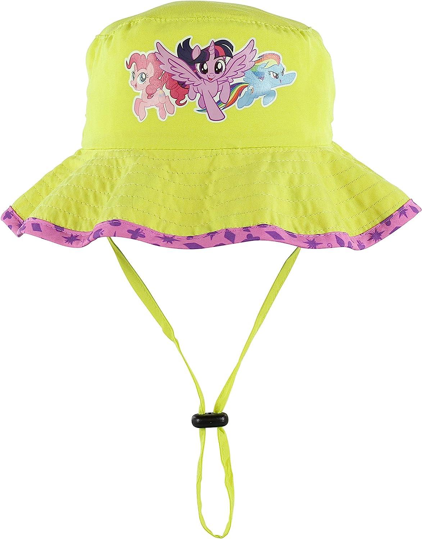 My Little Pony Girls Sun Boonie Hat Twilight Sparkle, Pinkie Pie, Rainbow Dash
