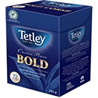 Tetley Intensely Rich, Full-Flavoured and Robust, 100% Rainforest and Kosher Certified, Orange Pekoe Bold (Black) Tea…